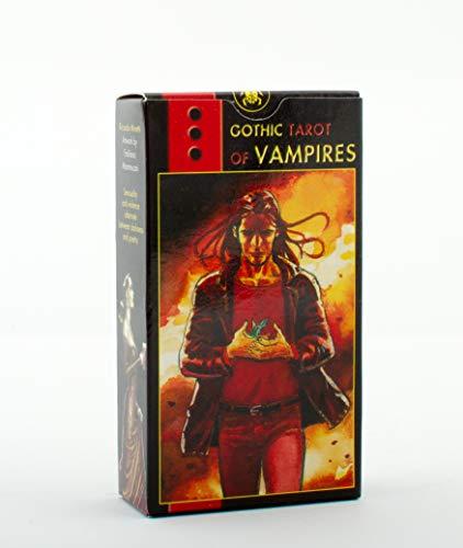 9788883953101: GOTHIC TAROT OF VAMPIRES (cards)