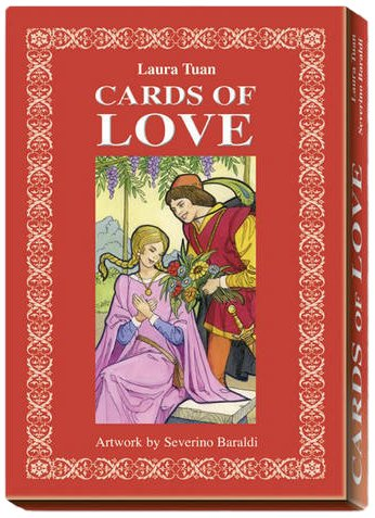 9788883953910: Cards of Love: 32pp Book and 33 Card set