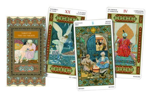 9788883954474: Tarot of the 1001 Nights