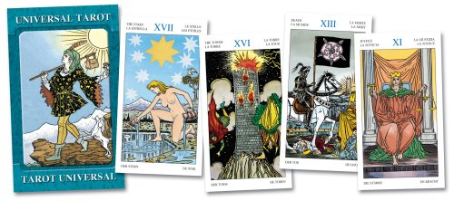 9788883955846: UNIVERSAL TAROT Large Edition (Grand Trumps) (cards)