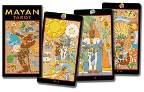 9788883958045: Mayan Tarot: The Ancient Civilizations Stone Engravings Become Tarot