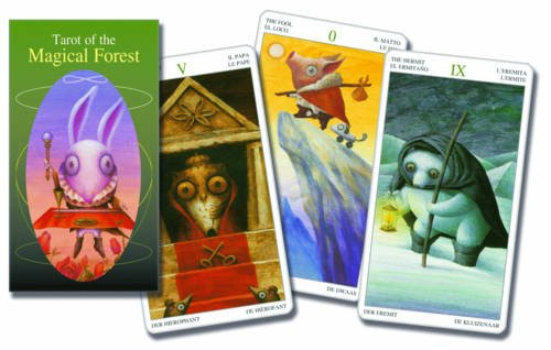 9788883958427: Tarot of the Magical Forest