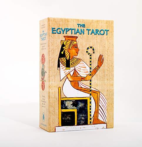 9788883959943: Egyptian tarot set