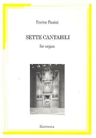 9788884000842: Sette cantabili per organo