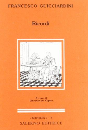 Ricordi.: Guicciardini,Francesco.