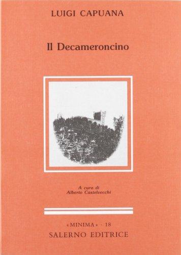 9788884020680: Il decameroncino