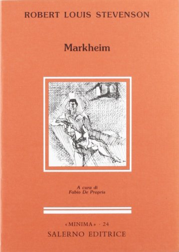 Markheim.: Stevenson,Robert Louis.