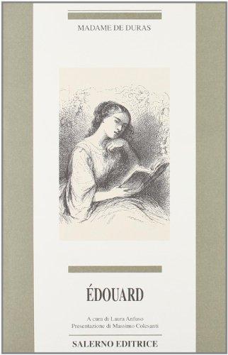 Edouard.: Madame De Duras.