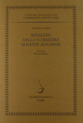 9788884024329: Bellezze della «Commedia» di Dante Alighieri