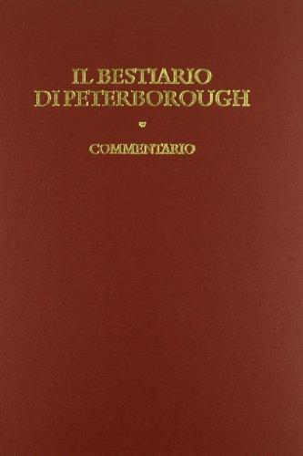 9788884024572: Bestiario di Peterborough. Commentario
