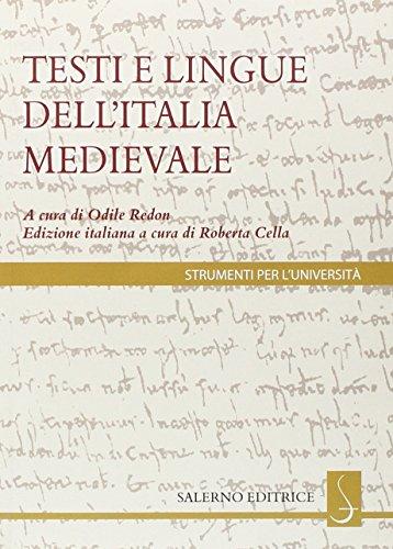 I testi e le lingue dell'Italia medievale (8884026555) by [???]