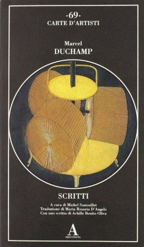 Scritti (9788884161017) by Marcel Duchamp