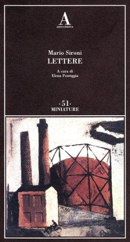 9788884161475: Lettere
