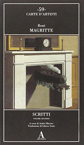 Scritti vol. 2 (9788884162465) by Magritte, René.
