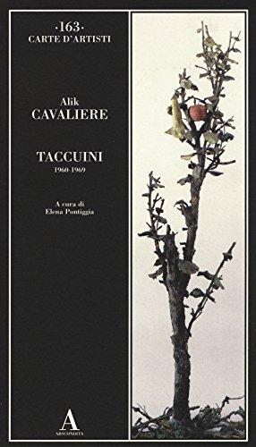 9788884164773: Taccuini 1960-1969