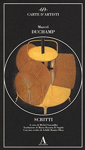Scritti: Duchamp, Marcel