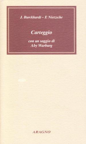 9788884190956: Carteggio