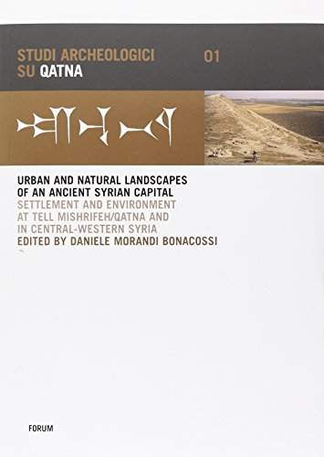 Qatna I: Urban and Natural Landscapes of Settlement and Environment at Tell Mishrifeh/Qatna ...