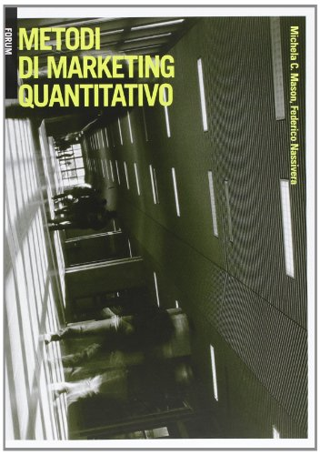 9788884207630: Metodi di marketing quantitativo