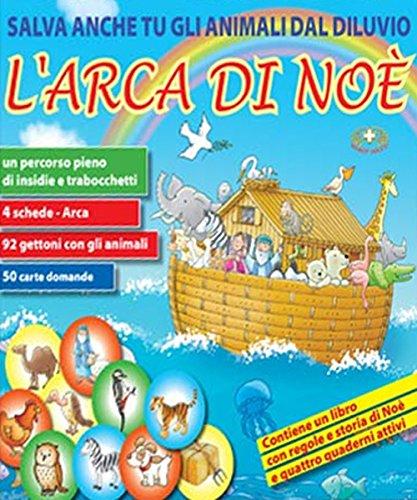 9788884244000: L'arca di Noè. Salva anche tu gli animali dal Diluvio