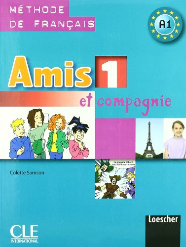9788884332516: Amis et compagnie. Livre de l'élève-Cahier d'exercices-Civilisation. Per la Scuola media: 1