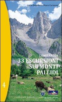 LOMBARDIA 33 ESCURSIONI SUI MONTI PALLIDI: BENEDETTI L. CARISSONI