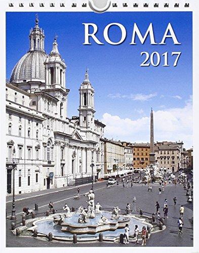 9788884383082: Calendario 12 mesi 2017 Roma Piazza Navona