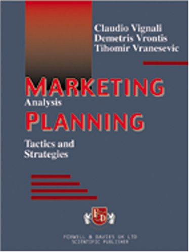 9788884480071: Marketing planning: analysis, tactics and strategy