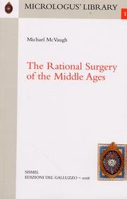 9788884501998: The Rational Surgery of the Middle Ages