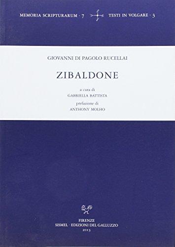 9788884505149: Zibaldone (Memoria scripturarum)