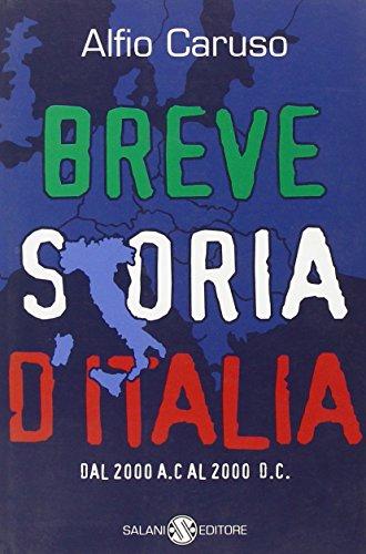 9788884510372: Breve storia d'Italia. Dal 2000 a. C. al 2000 d. C.