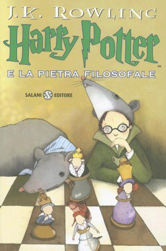 Harry Potter E la Pietra Filosafale / Harry Potter and the Philosopher's Stone (Harry Potter (Italian)) (Italian Edition) (8884516102) by J. K. Rowling