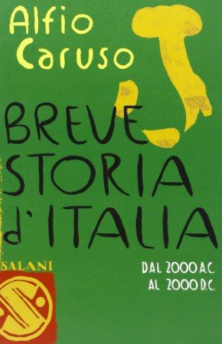 9788884517180: Breve Storia D'Italia