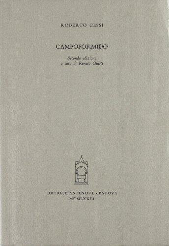 Campoformido.: Cessi,Roberto.