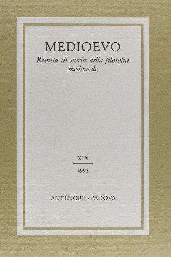 Medioevo. Rivista di storia della filosofia medievale (Paperback)