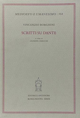 9788884556370: Scritti su Dante