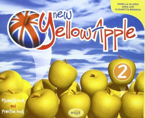 9788884642226: New yellow apple. Student's book-Practice book. Per la Scuola elementare. Con espansione online: 2