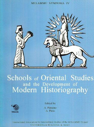 Schools of Oriental Studies and the development: PANAINO (A.), PIRAS