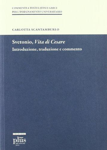 Vita di Cesare.: Svetonio.