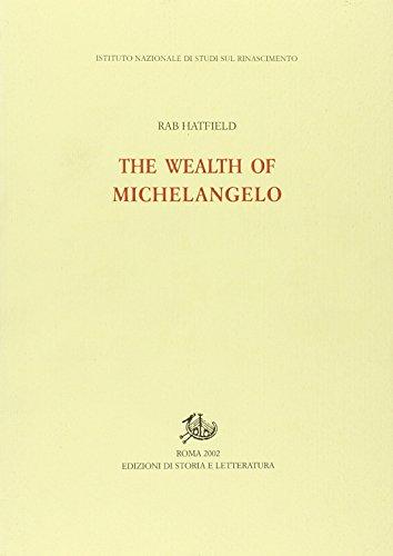 9788884980571: The Wealth of Michelangelo (Instituto Nazionale Di Studi Sul Rinascimento, 16)