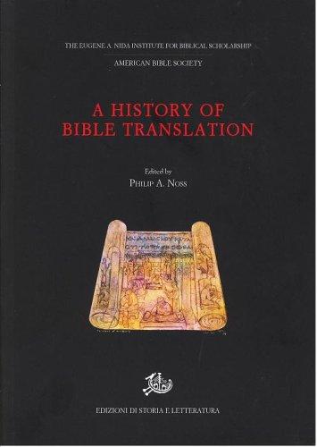 9788884983732: History Of Bible Translation
