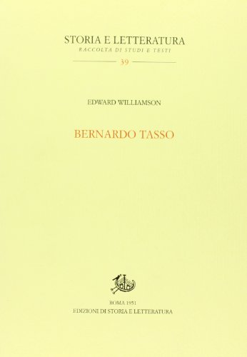 Bernardo Tasso: Williamson, Edward