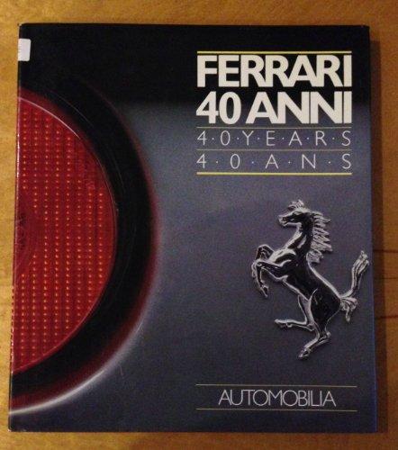 9788885058422: Ferrari : 40 Years