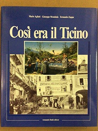 Così era il Ticino (Folclore e etnografia): Agliati, Mario