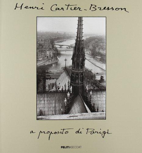 A proposito di Parigi (888512139X) by Henri Cartier-Bresson