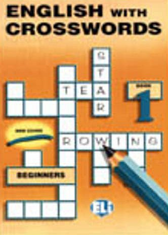 9788885148130: English with crosswords. Per la Scuola media: 1