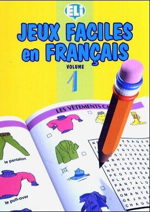 9788885148482: Jeux Faciles En Francais (Easy Word Games in Five Languages, Book 1)