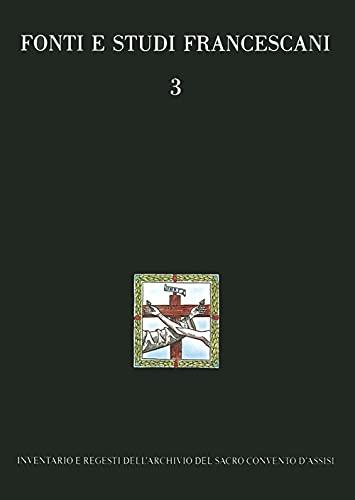 Inventario e regesti dell Archivio del Sacro