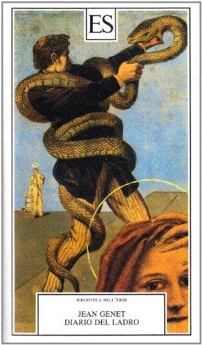 9788885357358: Diario del ladro (Biblioteca dell'eros)