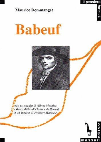 9788885378049: Babeuf e la congiura degli Eguali
